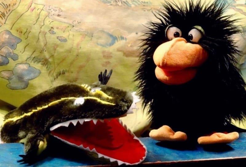 Krokodil Koen bijt graag in je schoen!